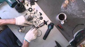 Особенности ремонта перфораторов