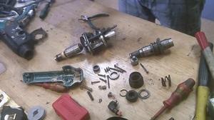 Способ разборки и ремонта электрической части перфоратора
