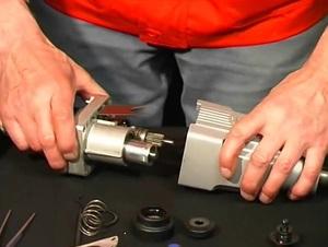 Способ ремонта ударного механизма перфоратора
