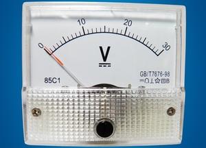 Измерительный прибор вольтметр