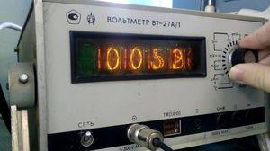 Измерение напряжения вольтметром