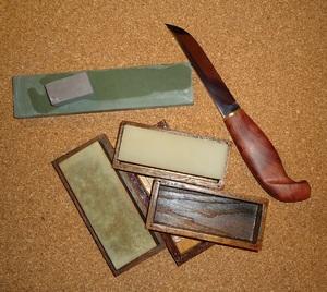 Угол заточки туристического ножа