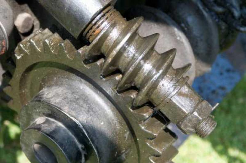 Шестеренчато цепной редуктор для мотоблока