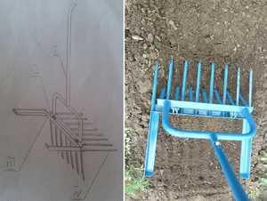 Хорошая лопата для копки земли