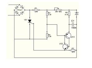 Схема регулятора мощности на т142 80 2