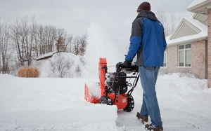 Одноступенчатая модель снегоуборщика