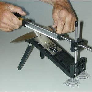 Заточка ножей ручной точилкой