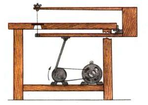 Самодельный лобзик из ручного инструмента