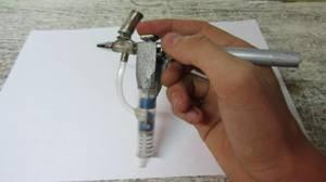 Как сделать пулевизатор для покраски своими руками