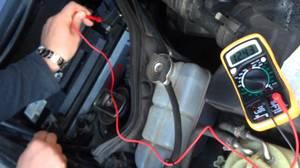 Проверить генератор тестером, не снимая с автомобиля