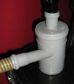 Самодельный пылесос циклонного типа для опилок